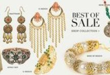 Best Of Sale! / Rohit Bal | Tarun Tahiliani | Anupama Dayal | Anita Dongre | Karieshma Sarnaa | Anjali Jain | Kyra | Dia Kapoor | Nida Mahmood | Kavita Bhartia | E Design | Shyam Narayan Prasad | SVA by Sonam & Paras Modi | Snachit Mehra | Mine of Design | Adara | Soup by Sougat Paul | Maatikaar | Studiorudraksh | Samant Chauhan | Aarti Gupta