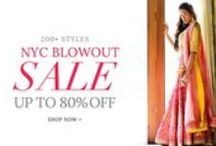 NYC Blowout Sale | UP TO 80% OFF! / Up to 80% off ensembles & accessories by your favorite designers.