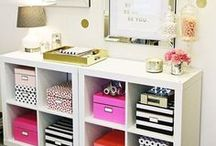Home Decor - Office space / Creating your own home office can be a challenging and fun task. Here is a collection of inspiring office spaces!