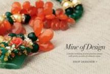 Mine of Design Jewelry | Shop Necklaces / Shine on in the light of this beautiful golden jewelry