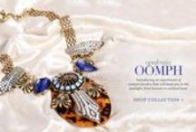 New Launch: Oomph | Shop Jewelry / Unveiling an assortment of couture jewelry that will keep you in the spotlight, from brunch to cocktail hour.