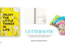 New Launch: Letternote | Shop Notebooks / Cool & Quirky. Pick the perfect gift for your loved ones from these eclectic stationary items.