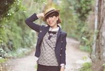 How to wear a boater/sailor hat / Style inspiration for outfits involving boater/sailor hats. Men's and women's outfits.