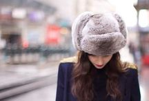 How to wear a faux-fur hat