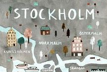 STOCKHOLM / Must visit cafés, restaurants, shops and sights in Stockholm