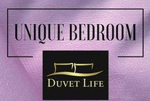 Unique Bedrooms / Here you will find outstanding bedroom designs selected by DuvetLife's editors. Follow our boards to be up to date with the most creative bedroom ideas. Visit our website: www.duvetlife.com