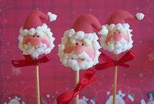 Santa Cake Pops / Santa Claus cake pops