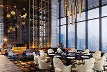 SPACES | THE RESTAURANT / #restaurantdesign #privatediningroom #interiordesign #hospitalitydesign