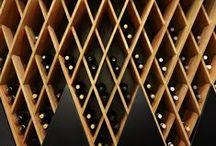 SPACES | THE BAR / #hoteldesign #hospitalitydesign #wineroom #cocktails #bars #barsathotels #bardetails #winestorage #winerack