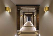 SPACES | THE CORRIDOR / #hoteldesign #hospitalitydesign #corridors #walkway #hallway #antechamber #anteroom #thoroughfare #wayfinding