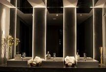 SPACES | THE RESTROOM / #restroomdesign #lavatorydesign #WCdesign #toiletdesign