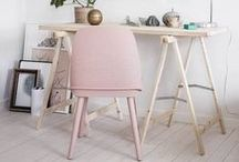 Colour - Rose Quartz / One half of the Pantone colour of the year 2016 pairing of Rose Quartz and Serenity.  Add a hint of pink around your home this spring and summer.