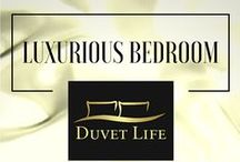 Luxurious Bedroom / Find outstanding and luxurious Bedroom Interior ideas in this new DuvetLife's Board.