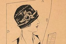 Vintage Hat Patterns and Millinery Tips