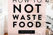 Food Waste / Tips for zero waste.