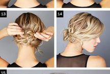// Beauty Education // / Hair, makeup, nails, DIY, Do It Yourself Hair Tutorials, instructions and Infographics
