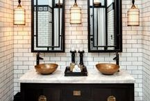 WASH ROOMS | bathroom decoration inspiration