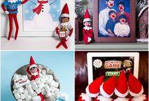 ELF ON THE SHELF IDEAS! / Elf on the shelf ideas!