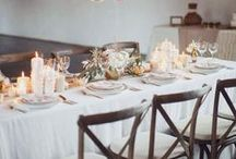 tabletop / You set the mood when you set the table. gatherings large or intimate, fancy or simple.