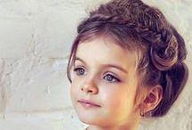Flower-girl Hairstyles / Sweet hairstyles for flower girls and junior bridesmaids.  wedding hair for little girls