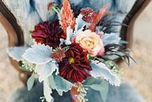 Fall Wedding / Fall weddings are so beautiful! The colors are amazing, and the excitement of the holidays approaching brings even more joy to the bride and groom as the year comes to an end :)