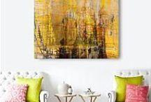 Yellow - aranżacje Artistiqe / Przygotowane przez artystę aranżacje w kolorach yellow