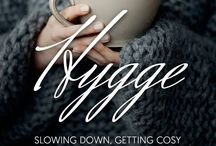 HYGGE! / A quality of cosiness and comfortable conviviality that engenders a feeling of contentment or well-being (regarded as a defining characteristic of Danish culture): 'why not follow the Danish example and bring more hygge into your daily life?' 'count on candlelight —almost a requirement for that special hygge experience'