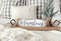 Farmhouse Bedrooms / Come to me, all you who are weary and burdened, and I will give you rest. Matthew 11:28