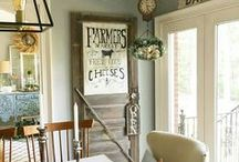 Farmhouse Kitchen / Kitchens are made for families to gather.