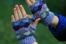 Crochet...Scarves, Fingerless Mittens