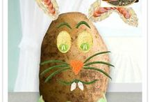 Eggahoan / Celebrate the season with Idahoan by making your own potato art over at www.facebook.com/Idahoan and see some of the remarkable creations here on Pinterest (contest is over on 4/1/13)