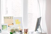 Effortlessly Stylish Work Spaces for Girlbosses / Effortlessly Stylish Work Spaces for #Girlbosses