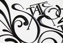 lettering. / by Kaley Buttars