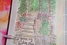 Bible Journaling / illustrated faith
