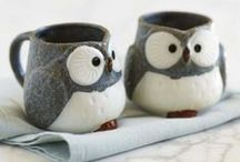 Marvellous Mugs / Ah mugs, those beautiful little things that help us drink coffee. / by Ray Vellest