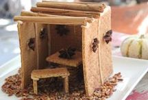Sukkot / Recipes, decorating ideas and crafts for the Jewish holiday of #Sukkot.