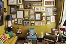 ART AT HOME / Beautiful artwork: photography, paintings, sculptures. How to display art at home - decorating ideas.  http://essenziale-hd.com/category/art/