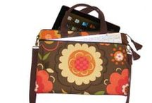 Laptop and Tablet Cases / Sewing projects, patterns and tutorials for pouches, cases, bags and sleeves for gadgets on the go.