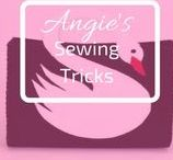 Angie's Sewing Tricks / I need to make it or learn it. Show best sewing projects using #Sewing