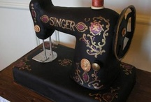 Sewing Themed Cakes / by PatternPile.com