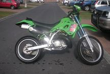 KDX 250 SR / My latest project. For bush & tar