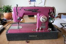 Sewing Machines - Tips, Tutorials, and Photos / Lots of sewing machine eye candy, hints, tips, techniques and tutorials. / by PatternPile.com