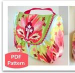 Cosmetic Bags / Sewing Patterns Projects and Tutorials to create cosmetic or makeup bags and pouches.