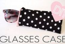 Glasses Cases / Sewing tutorials, projects and patterns for glasses and sunglasses cases
