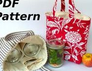 Lunch and Snack Bags / Sewing tutorials, projects and patterns for Lunch and Snack Bags.