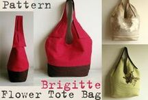 Ruby Red Bags / Beautiful red bags showcased at PatternPile.com