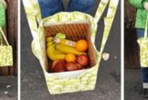 Kitchen & Food Bags / Sewing projects, tutorials and patterns for Kitchen & Food Bags