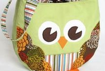 Owl Bags & Pouches /  Owl Bags & Pouches to Sew