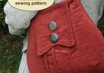 Earthy Bags / Beautiful samples of bags created using a sewing tutorial, pattern, or project featured at PatternPile