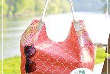 Peaches 'n Cream Bags / Sewing Inspiration, Patterns, and Tutorials for Peaches 'n Cream Bags